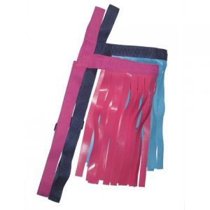 Fly Fringe - Pink, Blue/Grey, Green/Grey