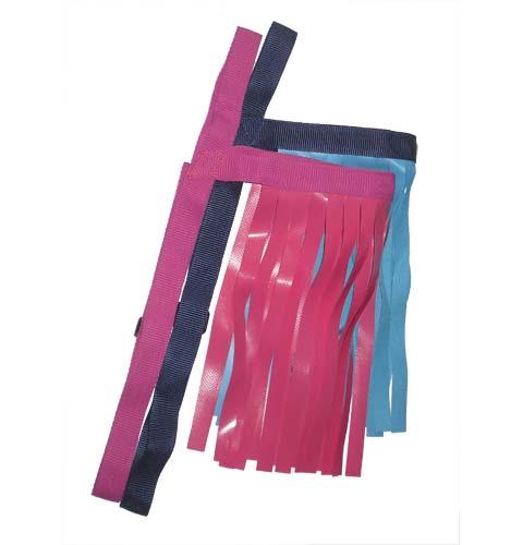 Fly Fringe - Pink, Blue/Grey, Green/Grey