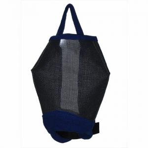 Horse Comfort Fly Mask Navy- S/M/L/XL