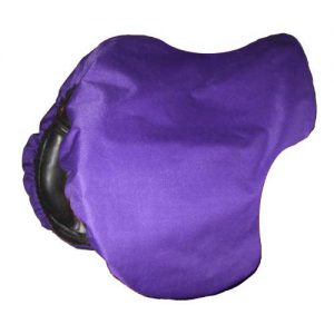 Canvas Saddle Cover -Purple