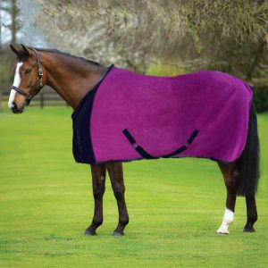 Fleece Blanket - Plum