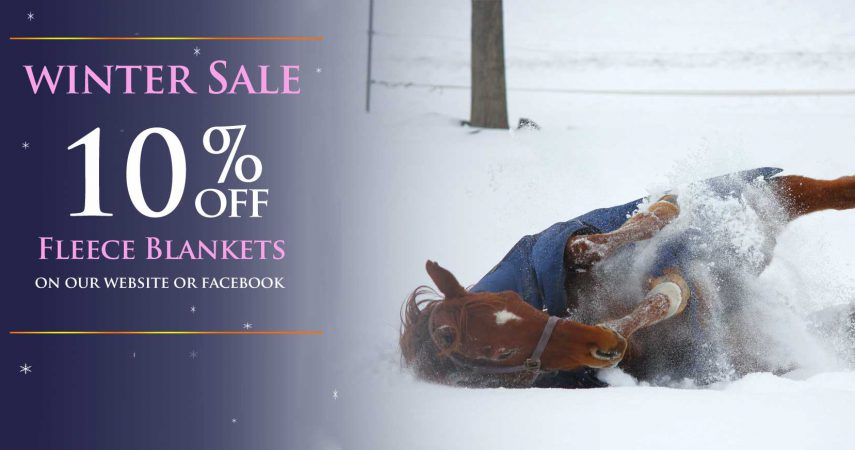 Horse Fleece blankets on SALE