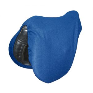 Royal Blue Fleece Saddle Cover