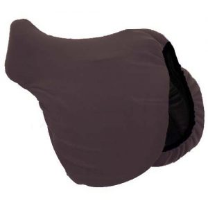 Brown Saddle Cover - Cotton