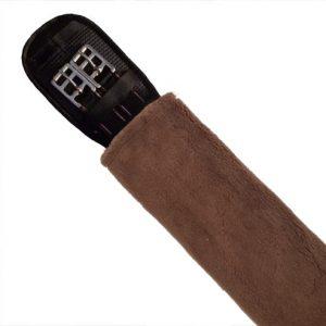 Fleece Girth Cover - Brown
